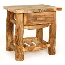 furniture making ideas. log furniture nightstands building a dream home pinterest making ideas