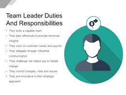 Team Leader Duties And Responsibilities Ppt Powerpoint Presentation