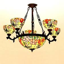 vintage stained glass chandelier stained glass chandeliers vintage stained glass chandelier antique stained glass lighting