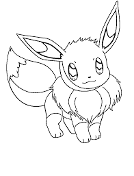 Small Picture Modest Eevee Coloring Pages Cool Book Gallery 6520 Unknown