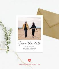 Photo Save The Date Template Polaroid Save Our Date