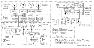 logic diagram of a 12 hour digital clock the wiring diagram digital nixie clock electronic projects wimb wiring diagram