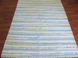 blue yellow green white 4 x 6 ft area rug and black rugs