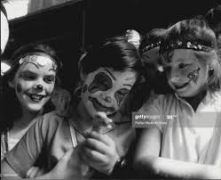 Children day, last day of the show. Painted faces Vanella 9, Gregory...  News Photo - Getty Images