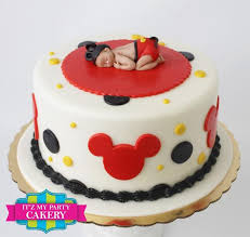 Mickey Mouse Baby Shower Cakes Images U2014 FITFRU Style  Mickey Baby Mickey Baby Shower Cakes