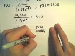 the logistic equation and models for population example 1 part 1 you