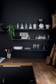Home Renovation: Black Walls in the Kitchen / No Glitter No Glory / Pitch  Black