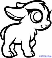 Small Picture Cute Goat Coloring Pages Coloring Home
