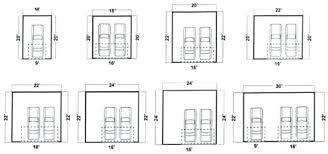 standard garage doors dimensions a inviting cool 2 car size door width