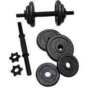 york 40 lb adjustable dumbbell set. gold\u0027s gym adjustable cast dumbbell set, 40 lbs image 2 york lb set t