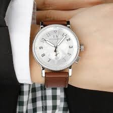 original burberry mens watch antique style silver leather band original burberry mens watch antique style silver leather band bu7681