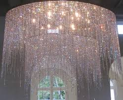 chandelier large crystal chandeliers big modern chandelier big circle with 2 level crystal lamp jpg