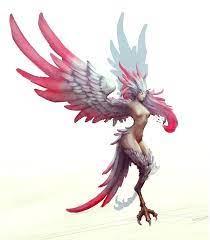 Harpy by slipled on DeviantArt   Fantasy character design, Creature concept  art, Dark fantasy art