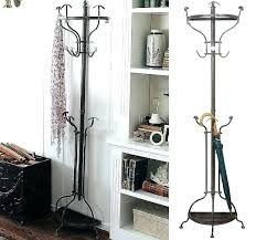 Metal Tree Coat Rack Beauteous Cast Iron Hall Tree Iron Coat Rack Tree Metal Tree Coat Rack Wall