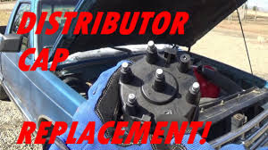 Replacing The Distributor Cap On A 2.8L Chevy S10 - YouTube