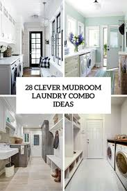Clever Mudroom Laundry Combo Ideas Cover ...