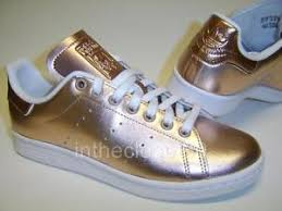 adidas shoes for girls rose gold. image is loading adidas-stan-smith-metallic-rose-gold-womens-girls- adidas shoes for girls rose gold 9