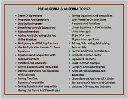 algebra is the basis of all the math moving forward sooo many details to remember miss one piece and the puzzle is not complete