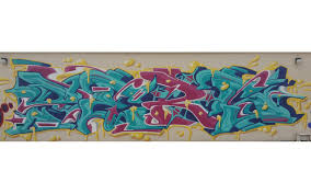 huge pers graffiti piece i painted at an event organized by dezio france in