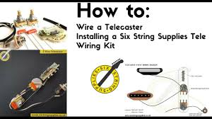 how to wire a telecaster youtube Wiring Diagram Telecaster 3 Way Switch how to wire a telecaster wiring diagram telecaster 3 way switch