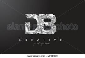 Db Letter Logo Design Vector Illustration Template D Letter Logo