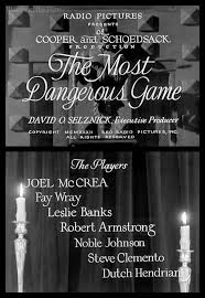the most dangerous game the blonde at the film most dangerous game titles