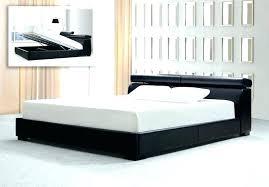 granrest 14 dura metal faux leather platform bed frame king size best frames images on bedroom wall street king leather storage platform bed