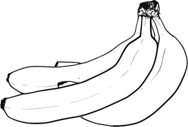 banana clipart black and white. download this image as: banana clipart black and white t