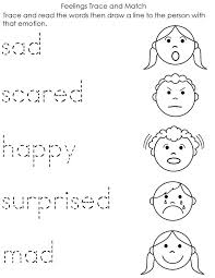 Small Picture Coloring Pages About Emotions Coloring Pages