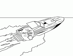 Small Picture Motor Boat coloring page for kids transportation coloring pages