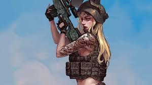 Pubg Tattoo Girl, HD Games, 4k ...