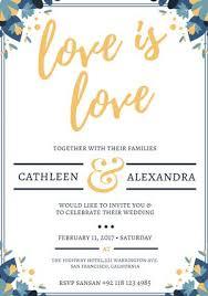 Free Wedding Invitation Printable Templates Business Card