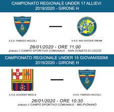 Scuola Calcio ASD Fabrizio Miccoli - Home