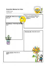 Scientific Method Worksheets For Kids - Shared By Laticia | Szzljy