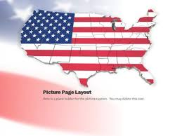 america ppt template usa wave a powerpoint template from presentermedia com