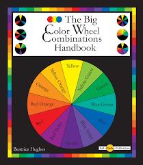 Color Wheel Chart Combinations The Big Color Wheel Combinations Handbook In 2019 Colour