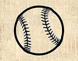 Office Ball Vintage Baseball Print Sports Wall Art Home Decoration Baseball