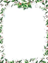 Holiday Stationary Templates Free Letterhead Word Letter