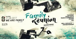 Family Reunion Poster Design Ra Family Reunion At Basing House London 2017