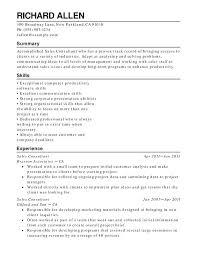 Retail Resume Templates Wikirian Com