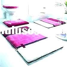 bath rug sets gray bathroom pink at kohls