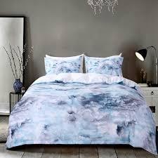 Blue Pattern Duvet Cover Unique Decorating