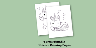 Free interactive exercises to practice online or download as pdf to print. 4 Free Printable Unicorn Coloring Pages For Kids