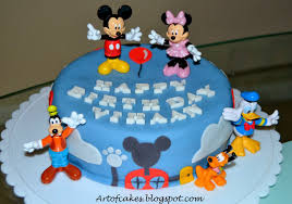 Art Of Cakes Mickey Mouse Clubhouse Cake
