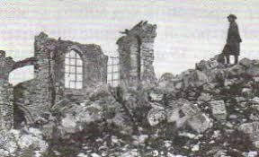 Итоги и результаты Первой мировой войны Новая история Реферат  Руины церкви близ Вердена Фото 1918 г