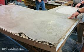 how to make concrete countertops part 4 grouting sealing