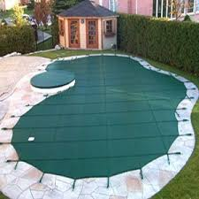safety pool covers. Wonderful Covers Home U003e Pool U0026 Spa Covers Arctic Armor 16x40 12yr Mesh Safety  Cover Green Center End Step And