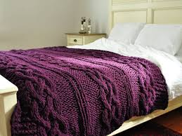 cable knit queen bedding