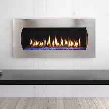 heat glo mezzo 60 gas fireplace with quattro front