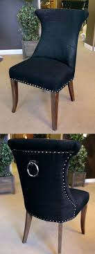 dining chairs with ring pulls black ring pull studded dining chair dining chairs with metal pull dining chairs with ring pulls